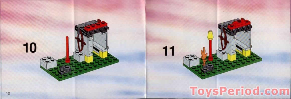 Lego 6246 Crocodile Cage Set Parts Inventory And