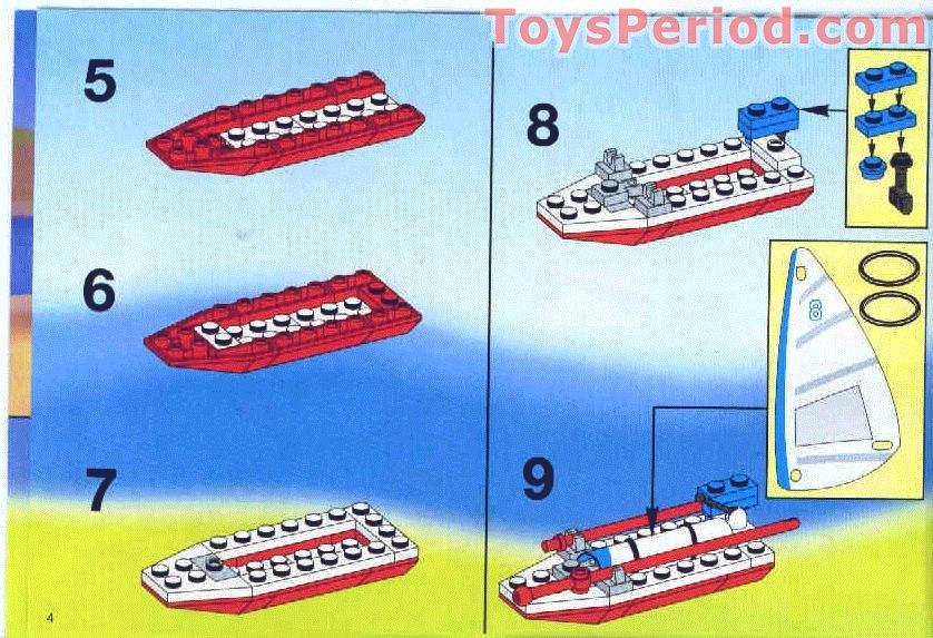 lego camping set instructions
