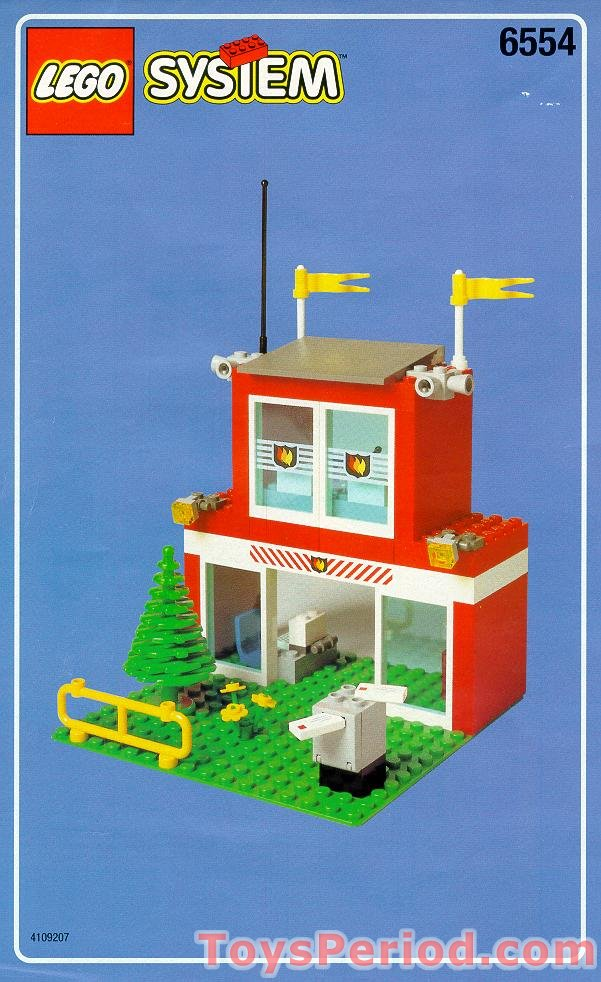 Lego 6554 Blaze Brigade Set Parts Inventory And