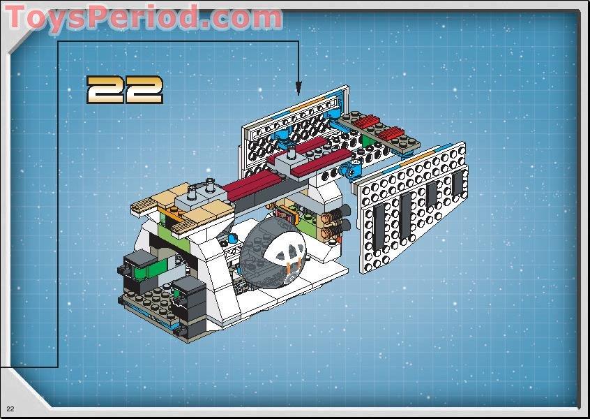 Lego 7163 Republic Gunship Set Parts Inventory And