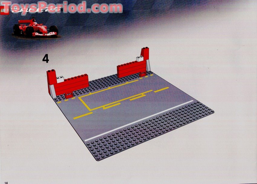 Lego 8375 Ferrari F1 Pit Stop Set Parts Inventory And