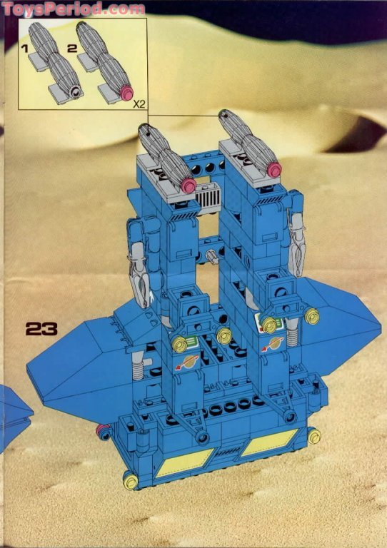 Lego 6951 Robot Command Center Set Parts Inventory And