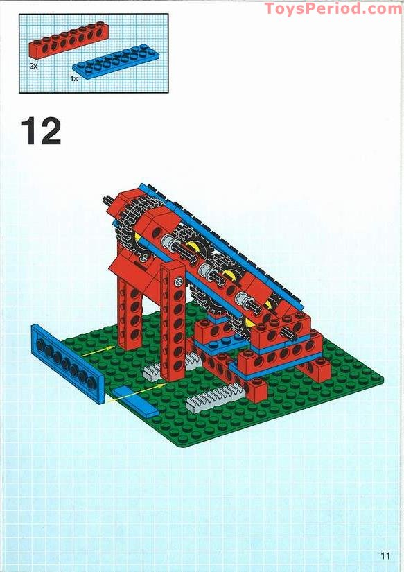 Lego 9630 Nonmotorized Simple Machines Set Set Parts
