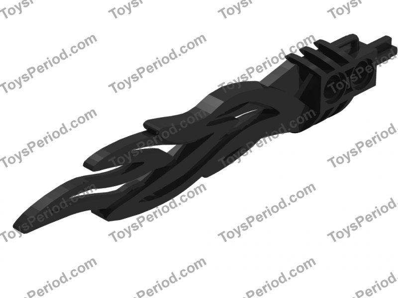 8 x Lego Bionicle Weapon Toa Flame Sword 2 x 12 with 2 Pin Holes