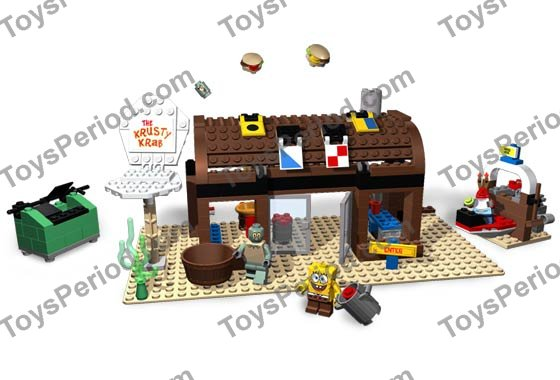 Lego New Tan Minifigure Torso SpongeBob Sand Green Neck Shirt Collar Pattern