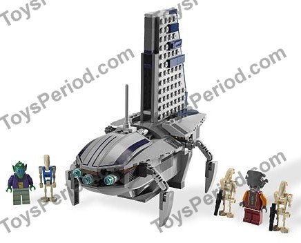 lego 8036 separatists shuttle set parts inventory and