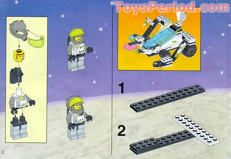 Lego 1737 Scorpion Detector Set Parts Inventory And Instructions