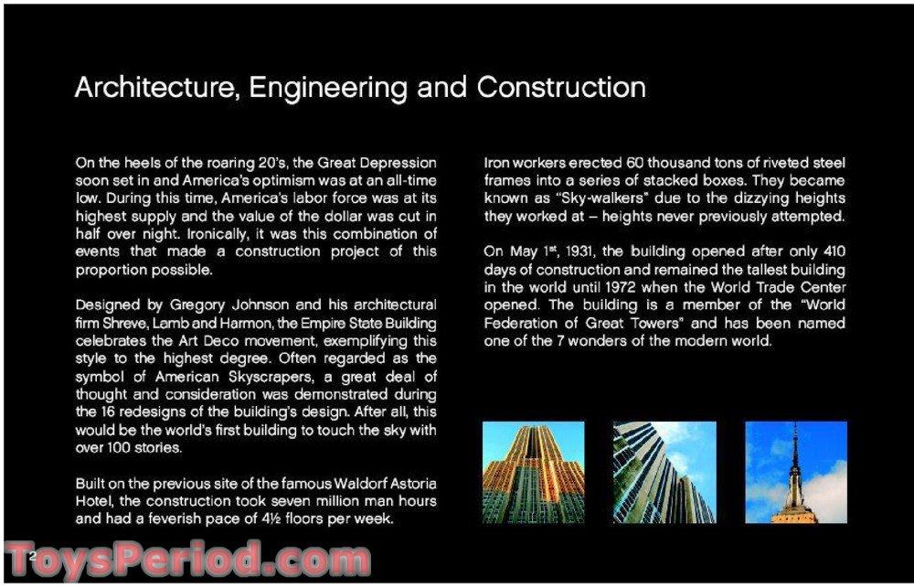 lego empire state building pdf