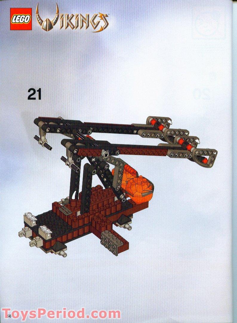 1 x  Lego 53456 Dragon Head Viking Beaked Dark Red