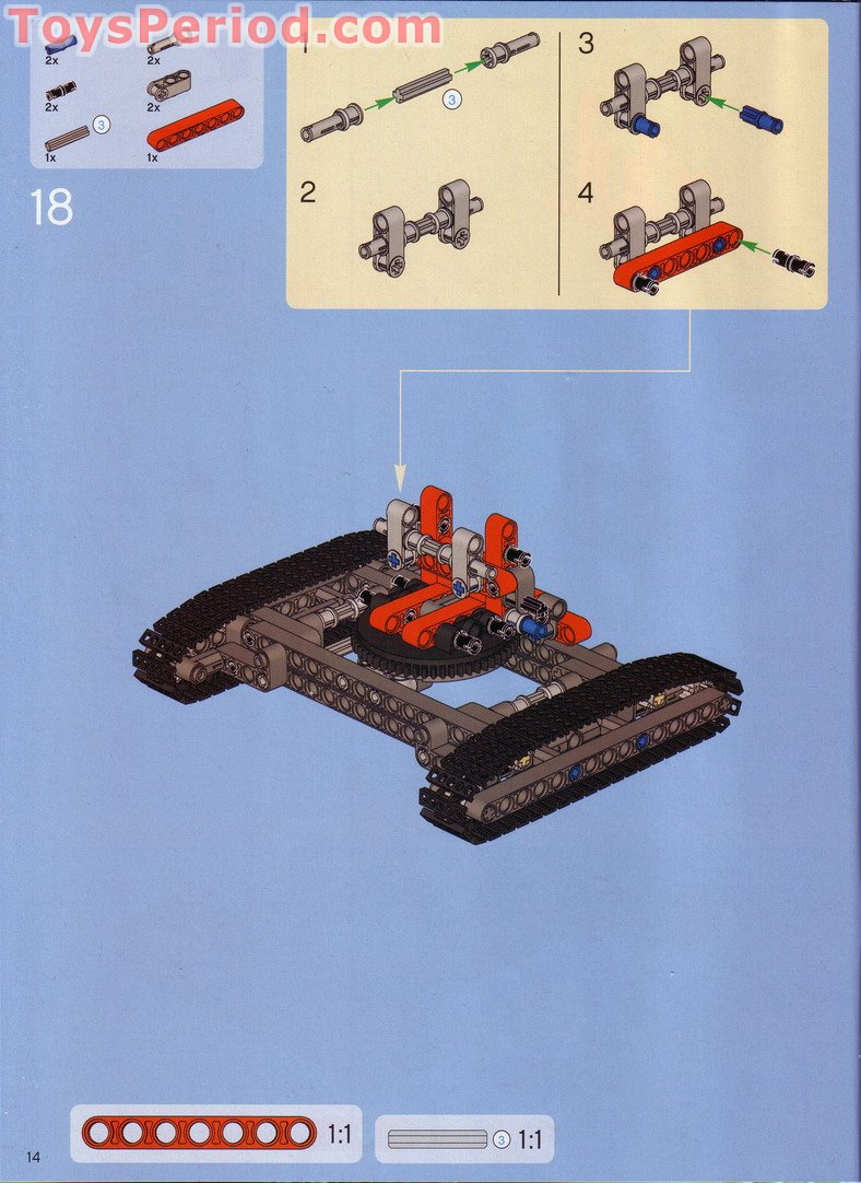 lego 42042 c model instructions