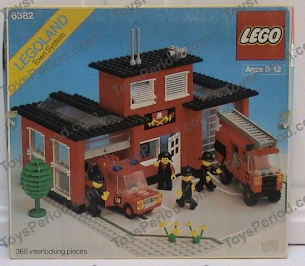 lego fire station instructions 6382