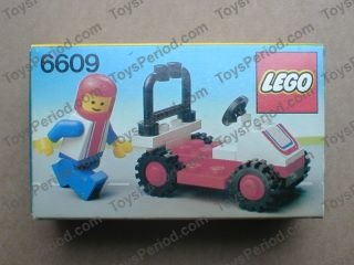 lego red race car instructions