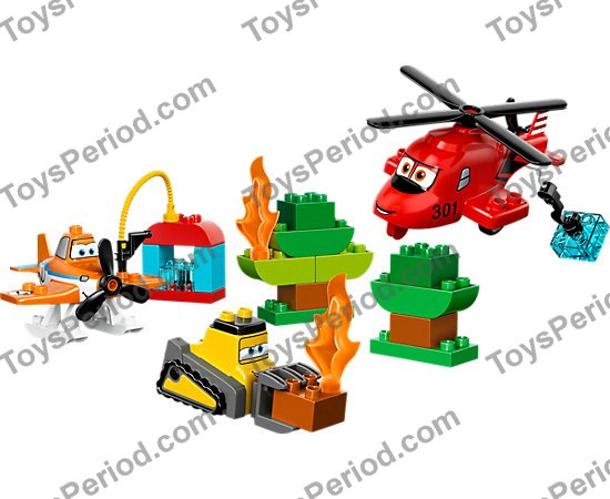 Lego 10538 Fire And Rescue Team Set Parts Inventory And Instructions