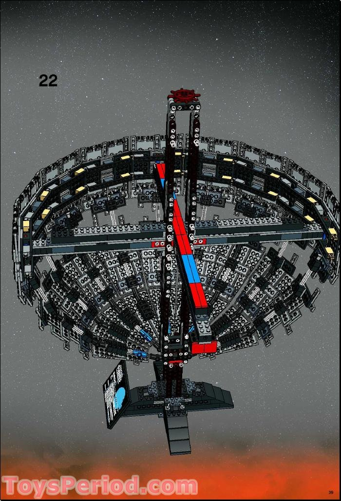 lego 10143 death star ii ultimate collector series ucs