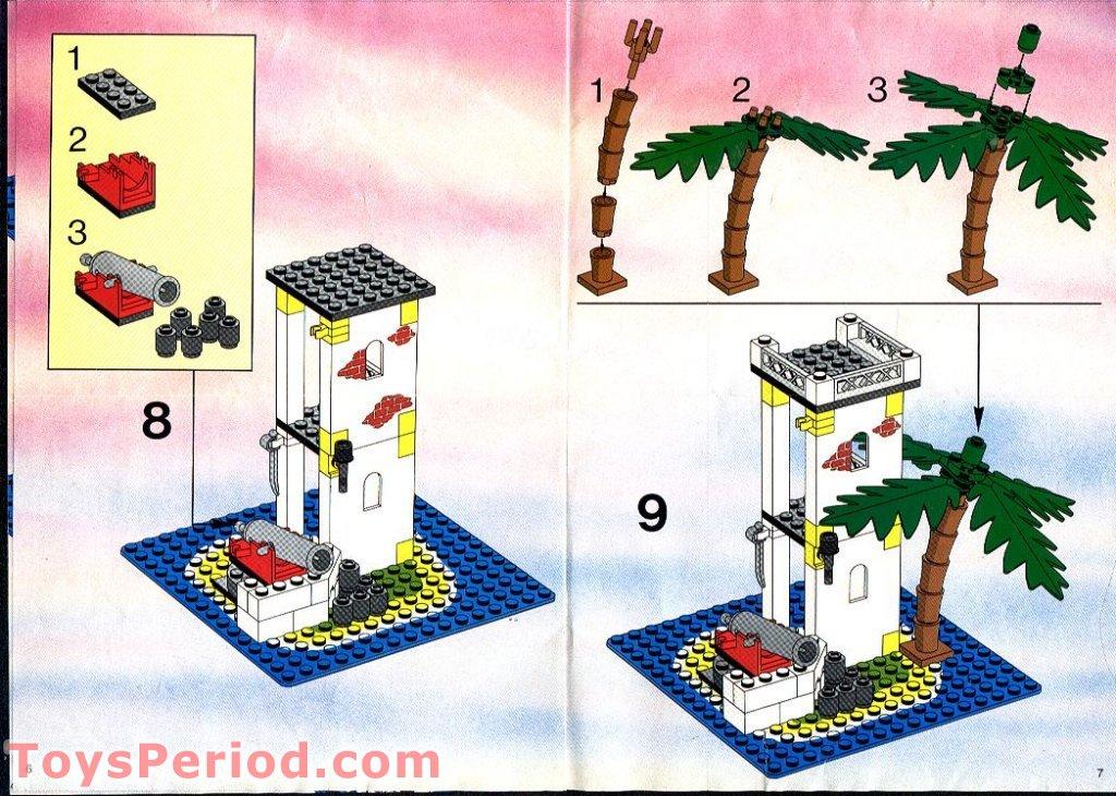 LEGO 6265 Sabre Island Set Parts Inventory and ...