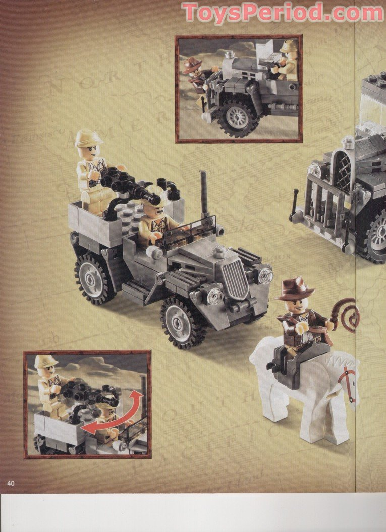 lego indiana jones temple escape instructions