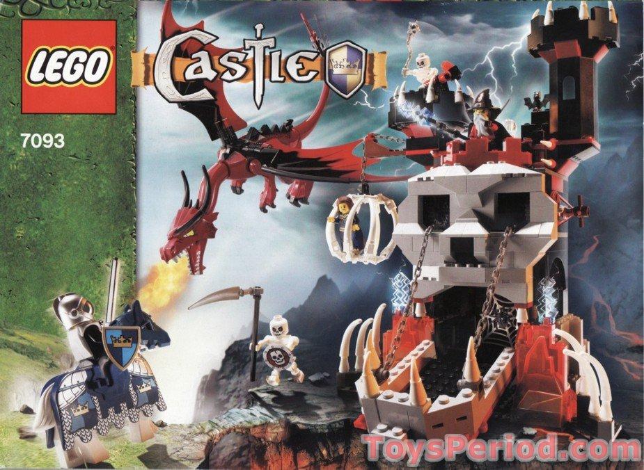 LEGO Parts Animal Body Part Black Dragon Castle Fantasy Era Choose Model