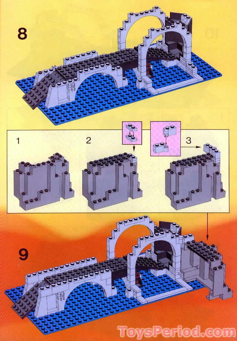 Lego 6075 1 Wolfpack Tower Set Parts Inventory And Instructions