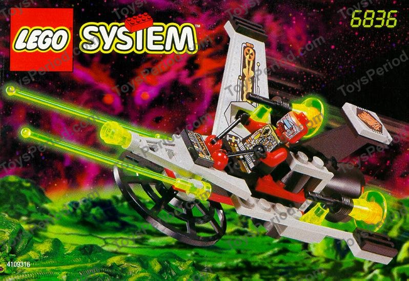 Lego 6836 V Wing Fighter Set Parts Inventory And