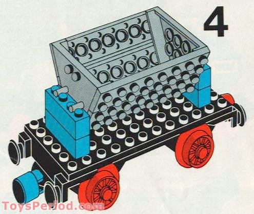Lego 163 Cargo Wagon Set Parts Inventory And Instructions