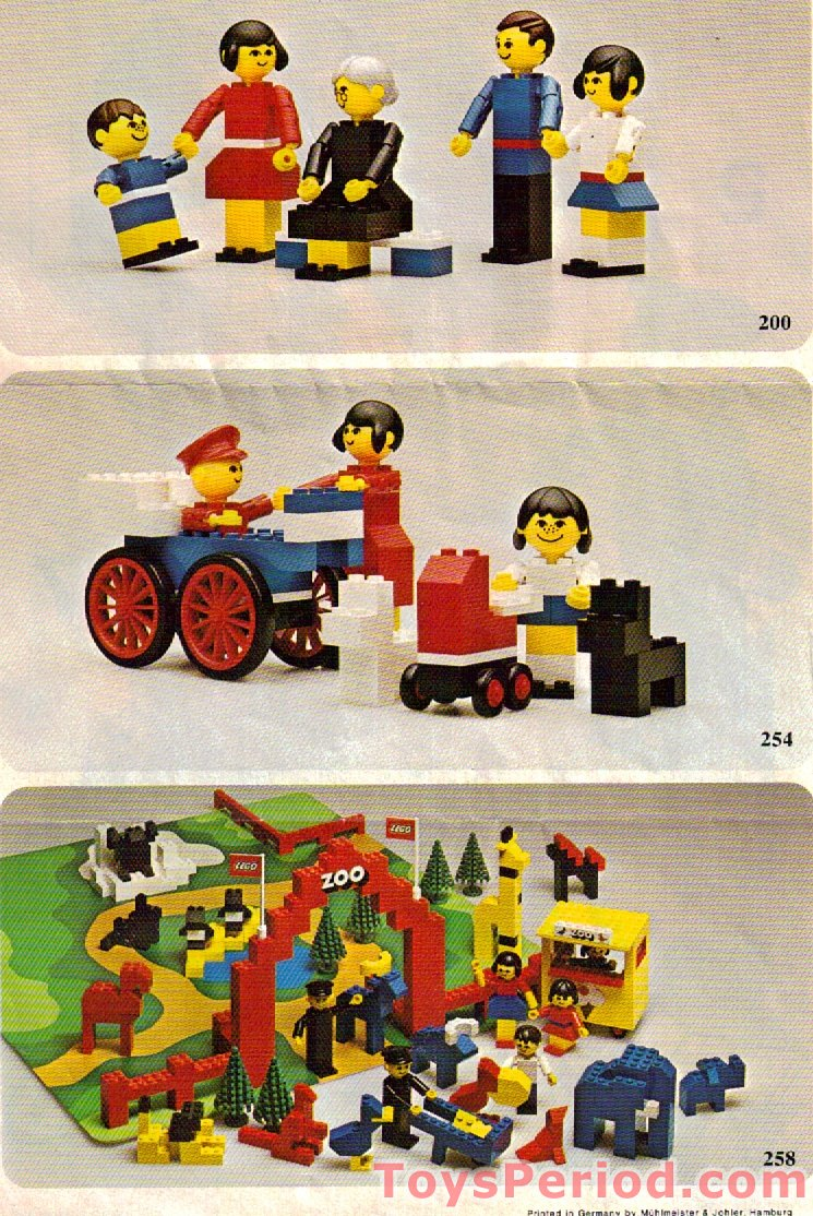Lego 214 1 Lego Building Set With People Road Repair Set