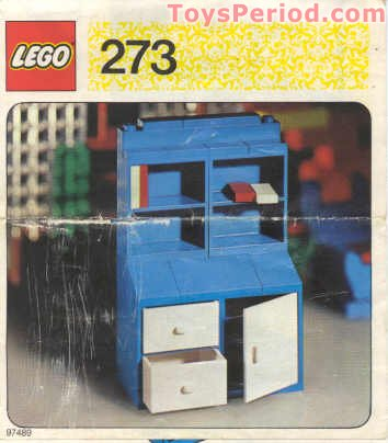 LEGO 273 Bureau Set Parts Inventory and Instructions - LEGO