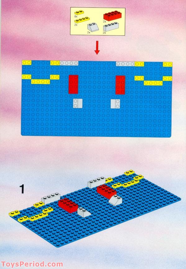 Lego 6264 Forbidden Cove Set Parts Inventory And