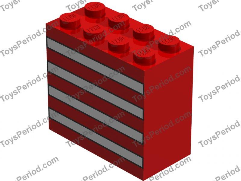 LEGO Dark Bluish Gray Brick 2x4 25 to 500 Pieces