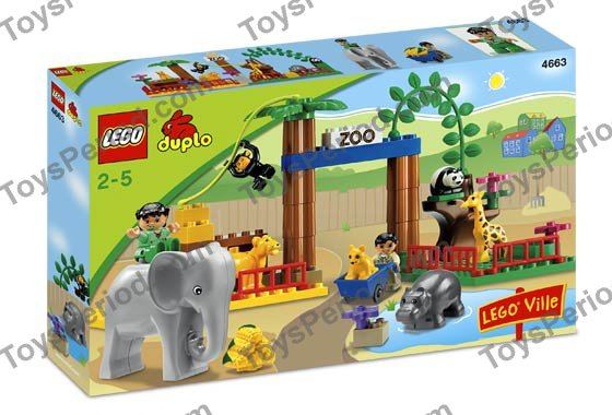 LEGO 4663 Zoo Set Parts Inventory and Instructions - LEGO ...