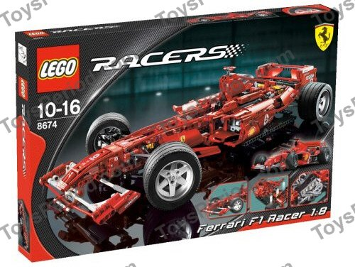 lego f1 ferrari instructions