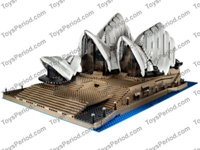 Lego 10234 Sydney Opera House Set Parts Inventory And Instructions