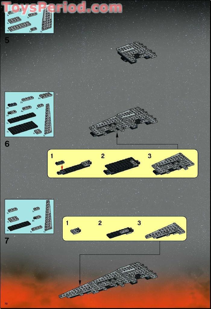 lego death star ii instructions