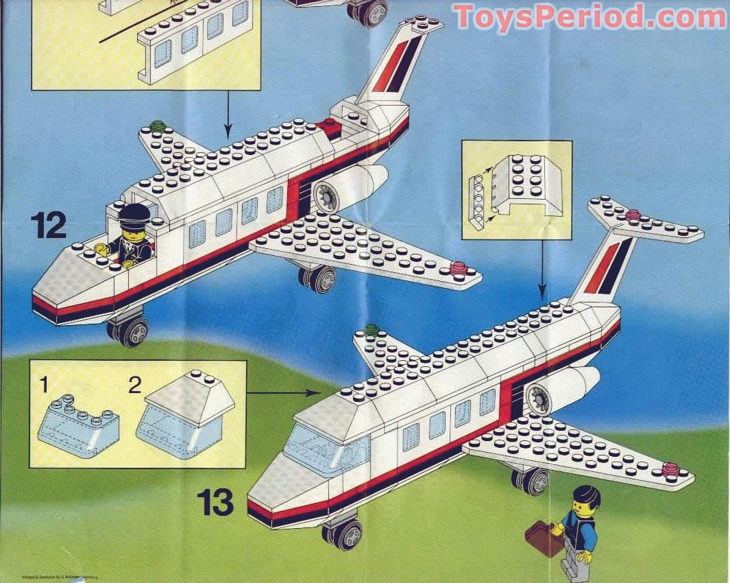 How To Build A Lego Airplane Instructions