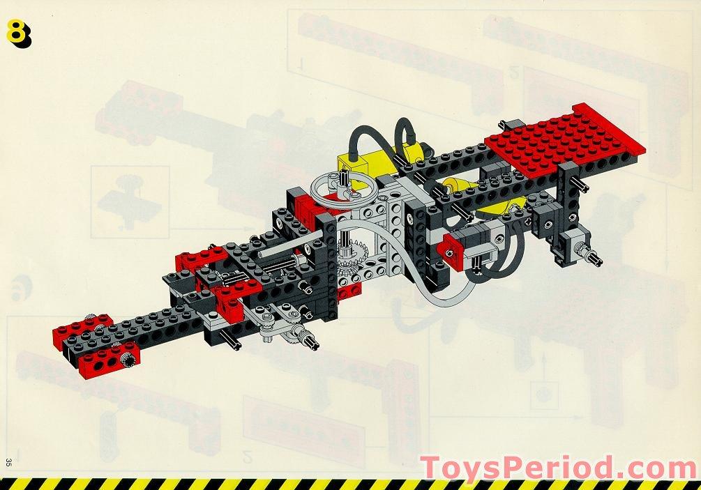 Lego 8854 Power Crane Set Parts Inventory And Instructions Lego