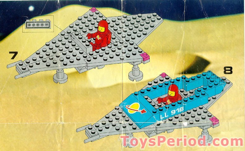 Lego 918 1 Space Transport Set Parts Inventory And