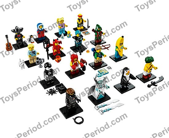 LEGO 71013 Banana Guy Collectible Minifigure Series 16 NEW /& SEALED Package