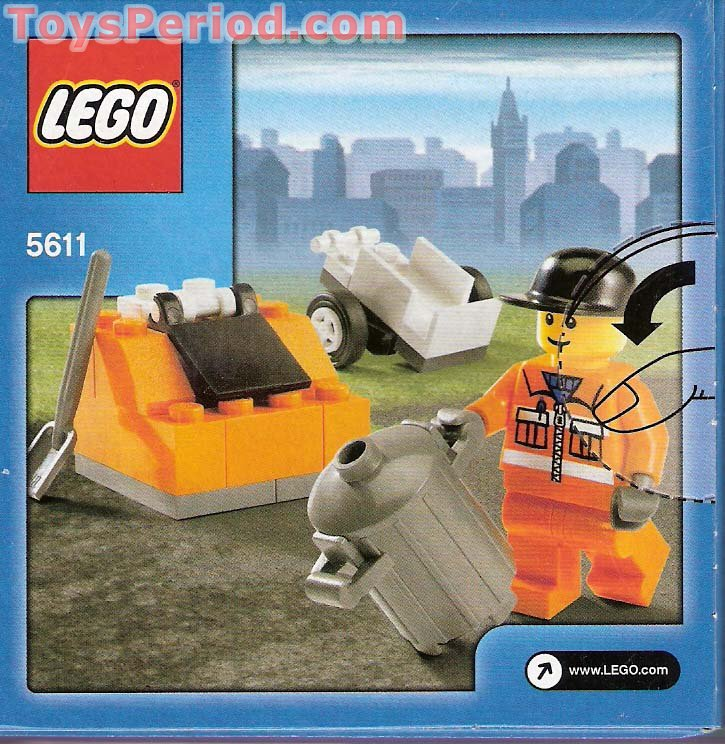 Lego 5611 Public Works Set Parts Inventory And