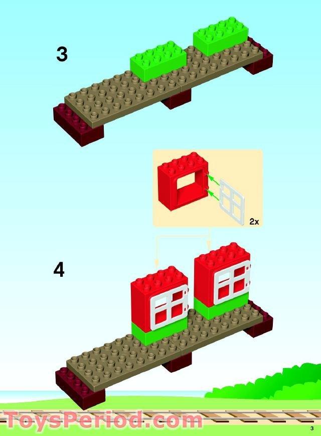 Lego 5544 Thomas Starter Set Set Parts Inventory And