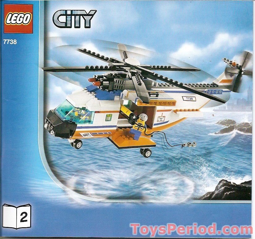 Lego Rescue Helicopter Instructions 7738 Helicopter And Bridge