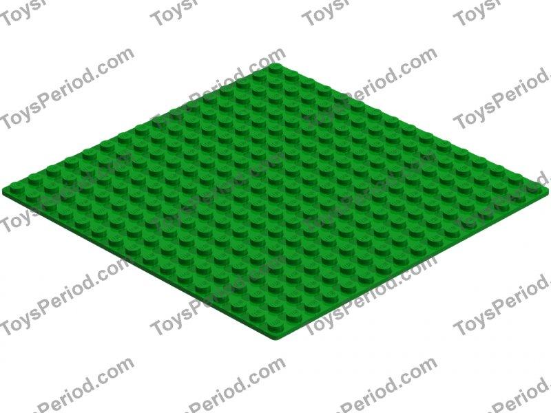 LEGO BASEPLATE 16 X 16  LIGHT GREEN