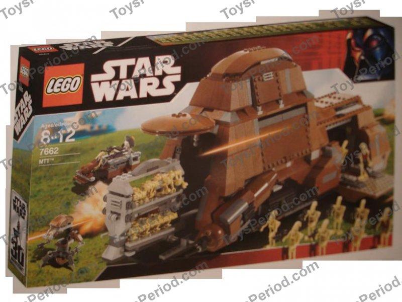 LEGO 7662 Trade Federation MTT Set Parts Inventory and