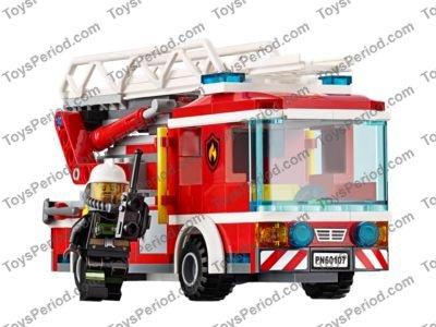 Lego City Fire Ladder Truck Instructions Best Ladder 2018