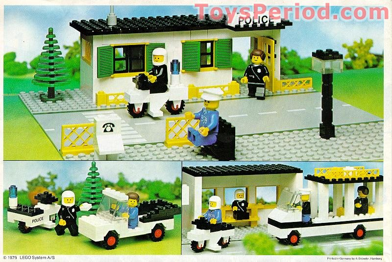 Lego 381 2 Police Station Set Parts Inventory And Instructions