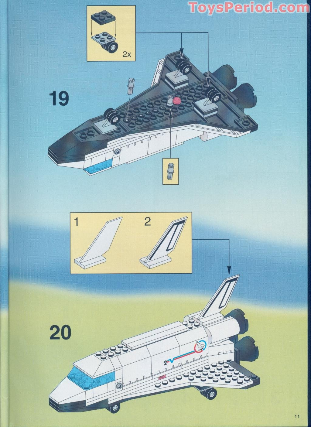 lego space shuttle parts list - photo #47