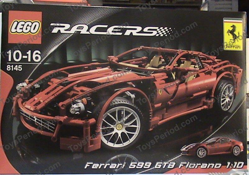lego ferrari 599 gtb fiorano instructions