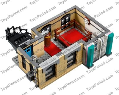LEGO 10260 Downtown Diner Set Parts Inventory and Instructions