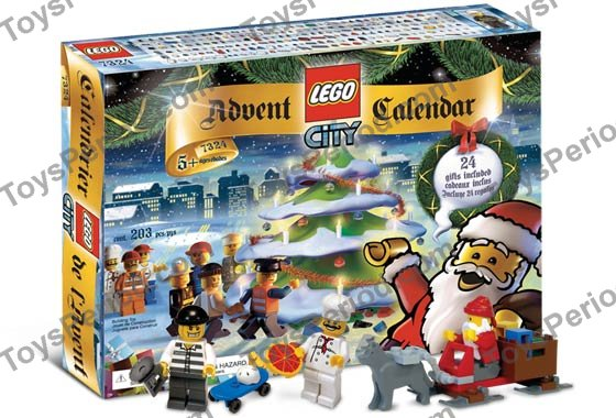 LEGO Figurine 7324-7 Criminel /& Buzz Saw Advent Calendar 2005 city town