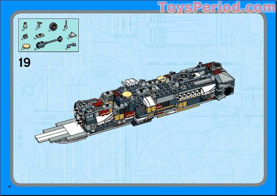 lego star wars y wing instructions