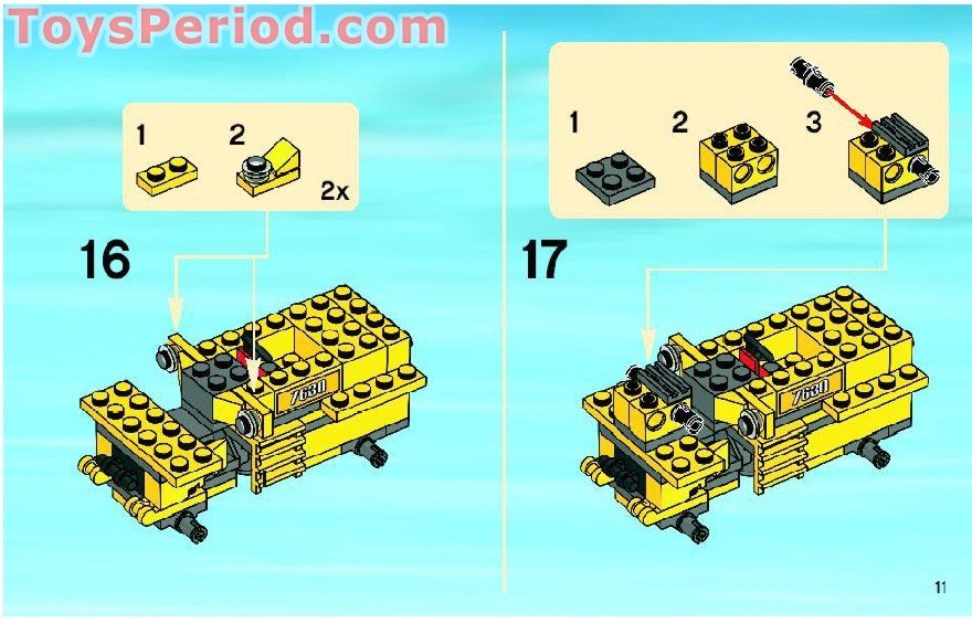 Lego 7630 Front End Loader Set Parts Inventory And