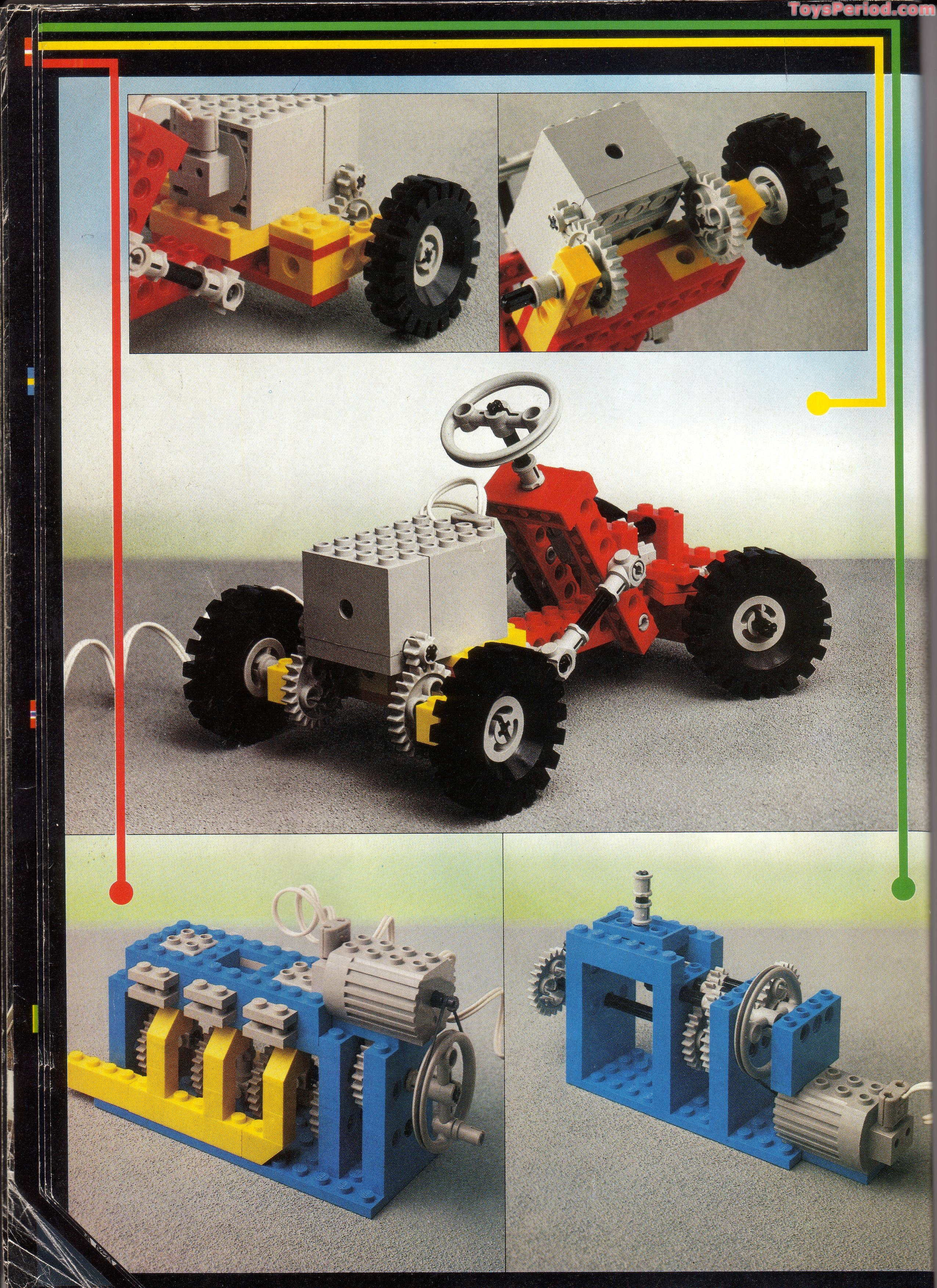 LEGO 8860 Auto Chassis Set Parts Inventory and Instructions - LEGO ...